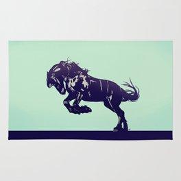 Dark Blue Stallion Rug