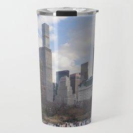 Winter in Manhattan Travel Mug