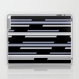 Skewed Stripes Pattern Design Laptop & iPad Skin