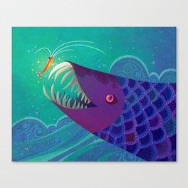 CHIKA CHIKA Canvas Print