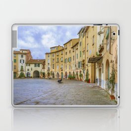 Piazza Anfiteatro, Lucca City, Italy Laptop & iPad Skin