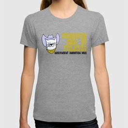 Urbancowfolks Studio Kitty Mustard Logo T-shirt