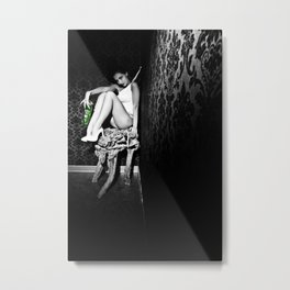 GREEN FAIRY VII Metal Print
