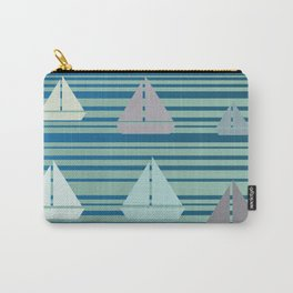 Boats & Stripes Carry-All Pouch