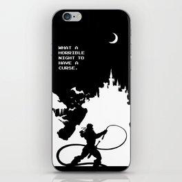 Castlevania iPhone Skin