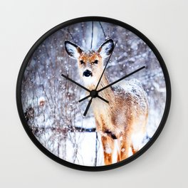 Missing Female Wall Clock