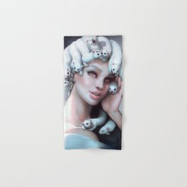 Ferret Medusa Hand & Bath Towel
