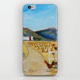 The Enmedio Ranch El Rancho de Enmedio Oil on Canvas Juan Manuel Rocha Kinkin iPhone Skin
