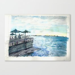 At The Ringling on Sarasota Bay Canvas Print