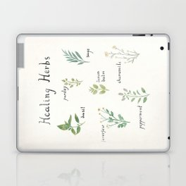 Healing Herbs Laptop & iPad Skin