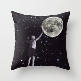Picasso Plays God Throw Pillow