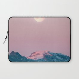 Moon and the Mountains – Landscape Photography Laptop Sleeve