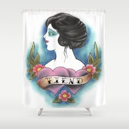Fiend Shower Curtain