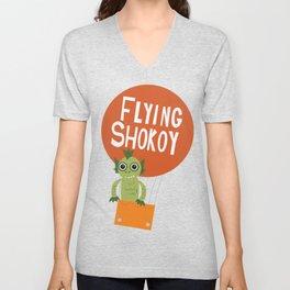 Flying Shokoy (Philippine Mythological Creatures Series #4) Unisex V-Neck
