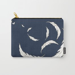 Come fly with me navy illustration Carry-All Pouch