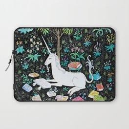 The Unicorn is Reading Laptop Sleeve