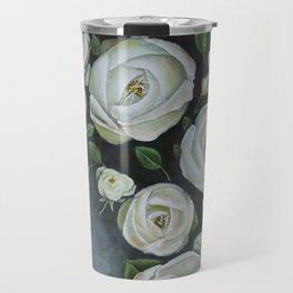 Iceberg Roses Travel Mug