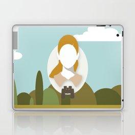 Moonrise Kingdom - Suzy Bishop (Kara Hayward) Laptop & iPad Skin