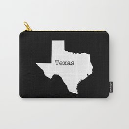 Texas State outline  Carry-All Pouch