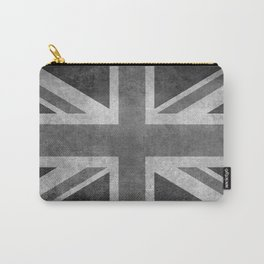 Union Jack Vintage retro style B&W 3:5 Carry-All Pouch