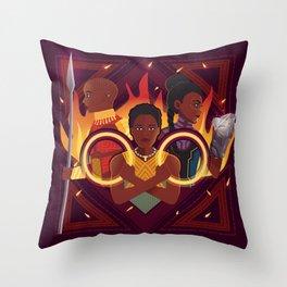 Women of Wakanda v2 Throw Pillow