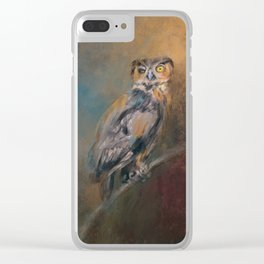 One Eye On You Clear iPhone Case