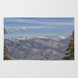 Kings Canyon, California from Sequoia National Park Rug