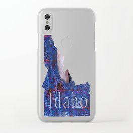 Swimming In A False Idaho Clear iPhone Case
