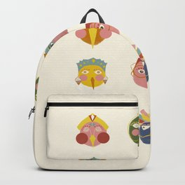 Owlklet Faces Backpack