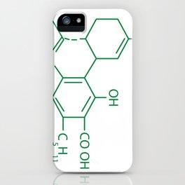 Cannabis Chemistry: CBD iPhone Case