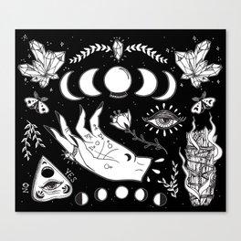Witchcraft Art Canvas Print