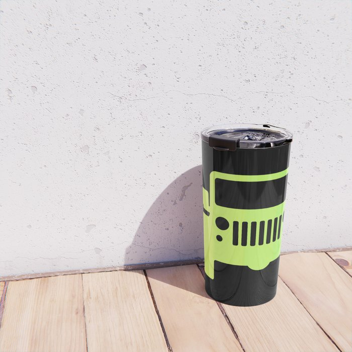 Jeep 'Lime gradation' Travel Mug