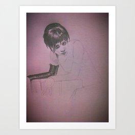 faye Art Print