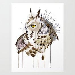 Snowy Owl Art Print