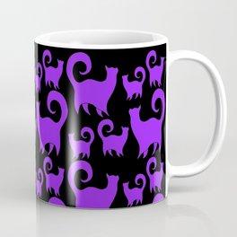 Purple Snobby Cats Coffee Mug
