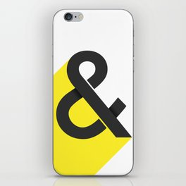 & poster iPhone Skin