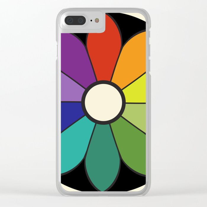 James Ward's Chromatic Circle (interpretation) Clear iPhone Case