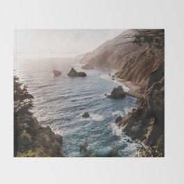 Big Sur Coast Throw Blanket
