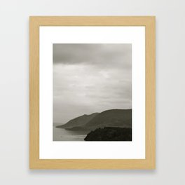 West Point Mountains Framed Art Print