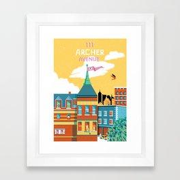 Royal and Company Framed Art Print