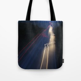 Whizzing Lights Tote Bag