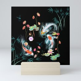 Japanese Water Garden Mini Art Print