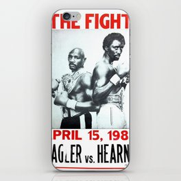 Hagler vs Hearns iPhone Skin