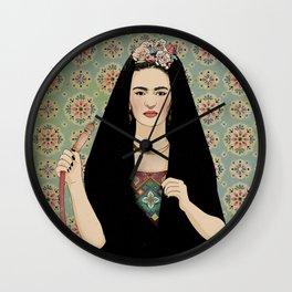 Frida & the Shisha Wall Clock