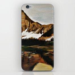 lakefront views iPhone Skin
