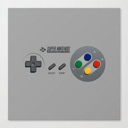 Classic Nintendo Controller Canvas Print