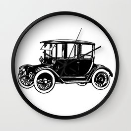 Old car 2 Wall Clock