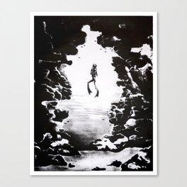 Scuba Diver Fine Art Print Canvas Print