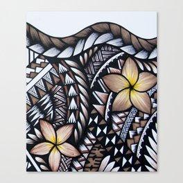 Samoan Beauty Canvas Print