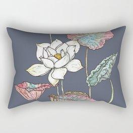 Lotus Symphony Rectangular Pillow